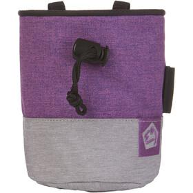 E9 Topo Small Chalkbag purple/grey
